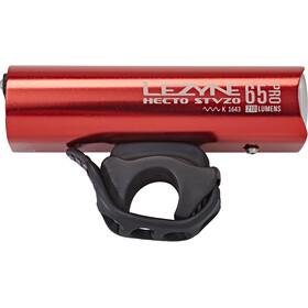 Lezyne LED Hecto Drive Pro 65 Reflektor przedni LED, red